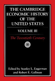 Cambridge Economic History of the United States