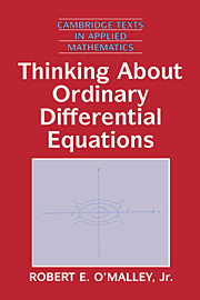Thinking about Ordinary Differential Equations