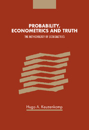 Probability, Econometrics and Truth