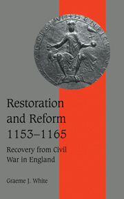 Restoration and Reform, 1153–1165