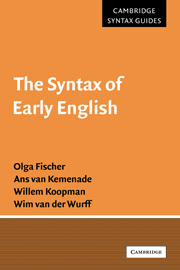The Syntax of Early English