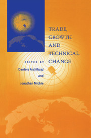 Trade, Growth and Technical Change