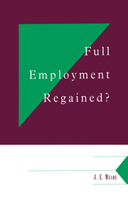 Full Employment Regained?