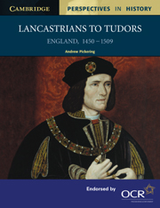 Authority and Disorder in Tudor Times, 1485–1603