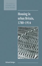 Housing in Urban Britain 1780–1914