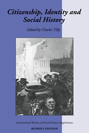 Citizenship, Identity, and Social History