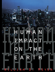 Human Impact on the Earth