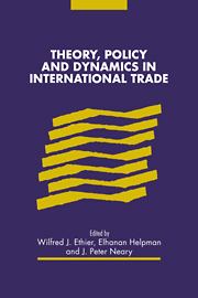 Theory, Policy and Dynamics in International Trade