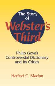 The Story of Webster's Third