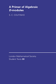 A Primer of Algebraic D-Modules