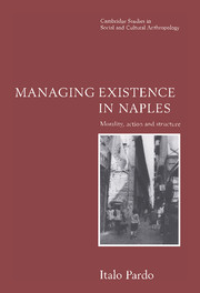 Managing Existence in Naples