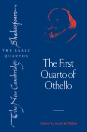 The First Quarto of Othello