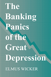 The Banking Panics of the Great Depression