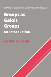 Groups as Galois Groups