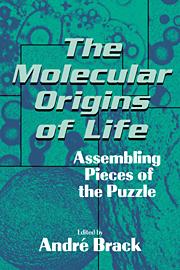 The Molecular Origins of Life
