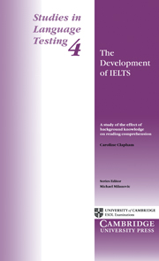 The Development of IELTS