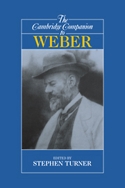The Cambridge Companion to Weber