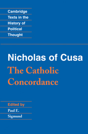 Nicholas of Cusa: The Catholic Concordance