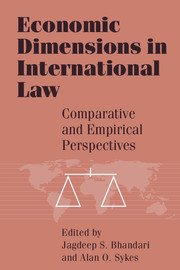 Economic Dimensions in International Law