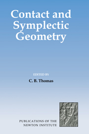 Contact and Symplectic Geometry