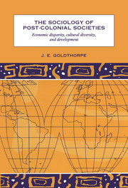 The Sociology of Post-Colonial Societies