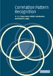 Correlation Pattern Recognition