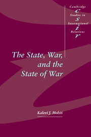 The State, War, and the State of War