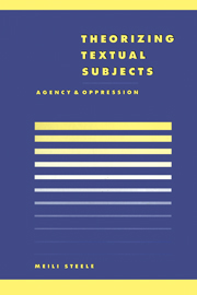 Theorising Textual Subjects