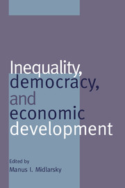 Inequality, Democracy, and Economic Development