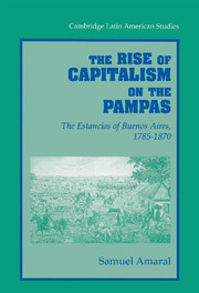 The Rise of Capitalism on the Pampas