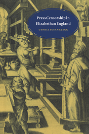 Press Censorship in Elizabethan England