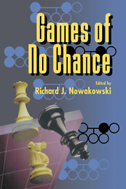 Games of No Chance