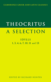 Theocritus: A Selection