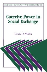 Coercive Power in Social Exchange