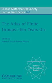 The Atlas of Finite Groups - Ten Years On