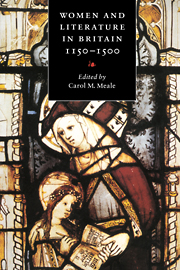 Women and Literature in Britain, 1150–1500