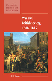 War and British Society 1688–1815