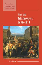 War and British Society 1688–1815