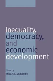 Inequality, Democracy, and Economic Development
