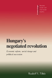 Hungary's Negotiated Revolution