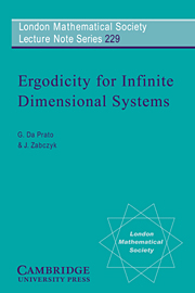 Ergodicity for Infinite Dimensional Systems