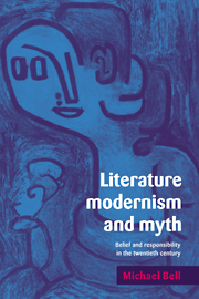 Literature, Modernism and Myth