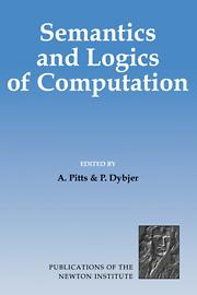 Semantics and Logics of Computation
