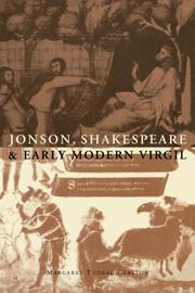 Jonson, Shakespeare and Early Modern Virgil