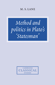 Method and Politics in Plato's Statesman