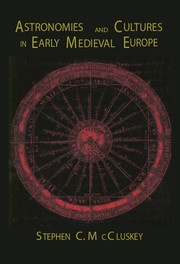 Astronomies and Cultures in Early Medieval Europe