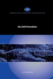 On Civil Procedure