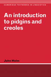 An Introduction to Pidgins and Creoles