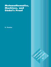 Metamathematics, Machines and Gödel's Proof