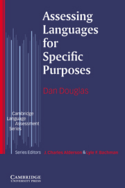 Assessing Languages for Specific Purposes